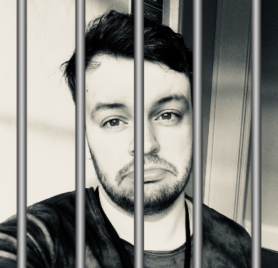 The night I spent in a cell