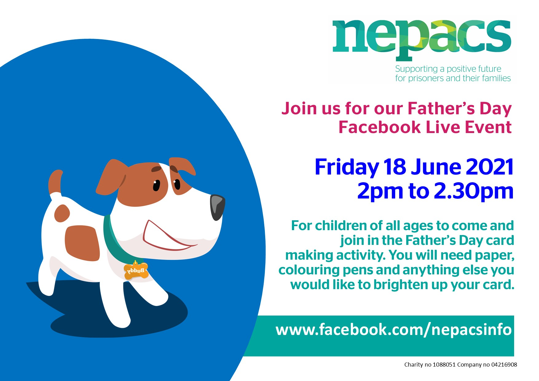 Fathers Day Facebook Live event